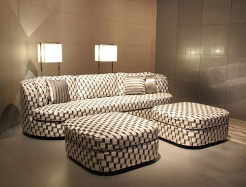 Turandot sofa for Armani arredo casa