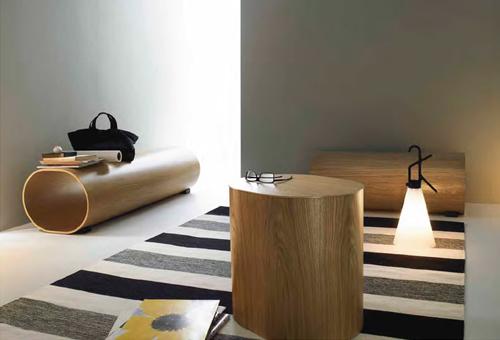 Log Bench& Log Table by Naoto Fukasawa